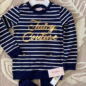 Juicy Couture Toddlers 2 Piece Set